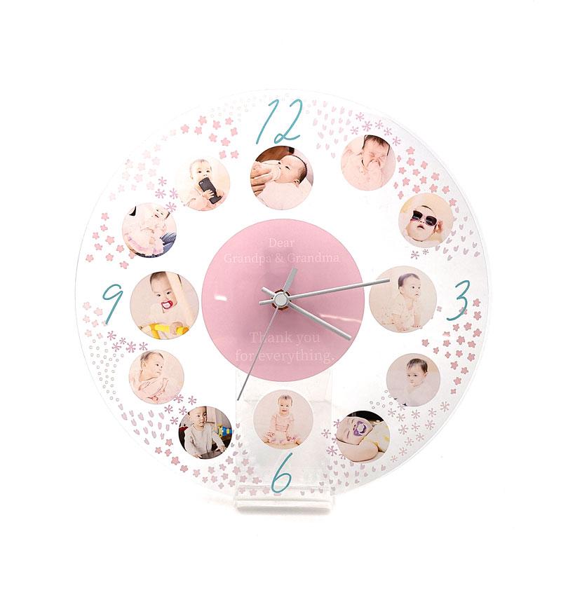 アクリル時計の特徴