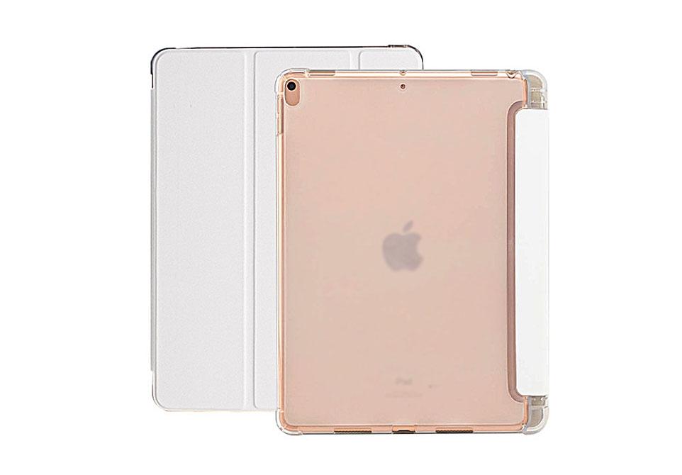 iPadはカバーを装着したままでも操作可能