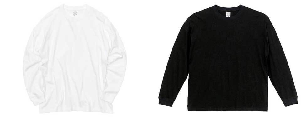 ビッグシルエット長袖Tシャツ5509-01(只今入荷待ち)