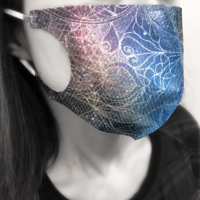 ME-Qでマスク製作してます!周りの人にも大好評♫これからもお世話になります!