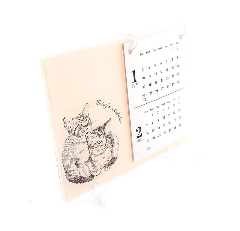 卓上カレンダーのオリジナル印刷を1個から小ロット作成|作り方簡単。お気に入り写真やイラストで365日の自作卓上カレンダーを作れるME-Q(メーク)