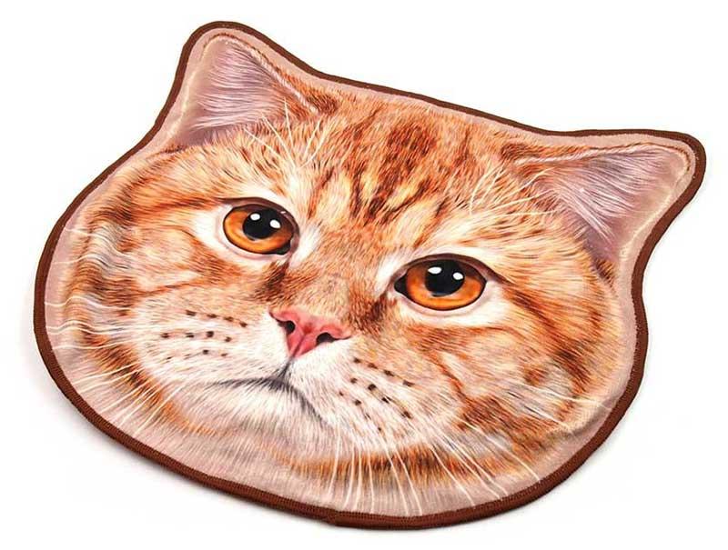 猫型タオルハンカチのオリジナル作成