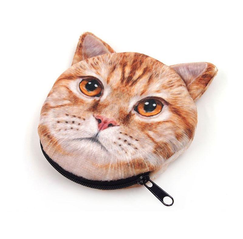 猫型コインケースのオリジナル印刷