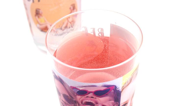 日本製グラスという安心感が、ノベルティにも最適◎