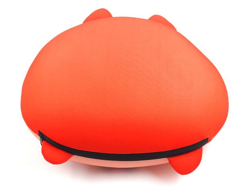 ぬいぐるみ型 表裏収納式 首枕ネックピロー3