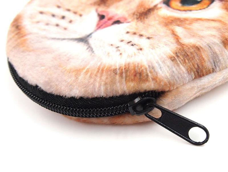 猫型コインケースのオリジナル印刷4