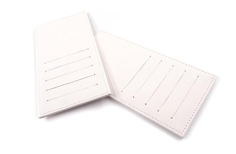 カード10迄収納。財布をすっきりさせる。オリジナルのインナーカードケース(カードホルダー)を1個から作成