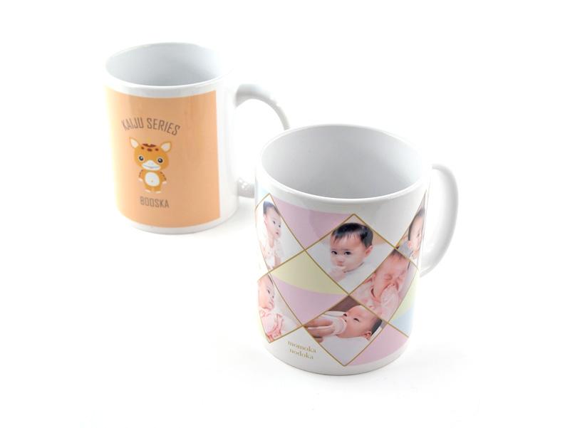 高品質の昇華転写フルカラー印刷で美しくマグカップをプリント