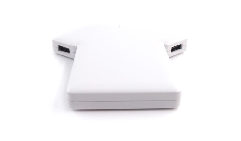 【大容量5000mAh】2台同時に充電。USB Type-C(USB-C)ケーブル付きモバイルバッテリー