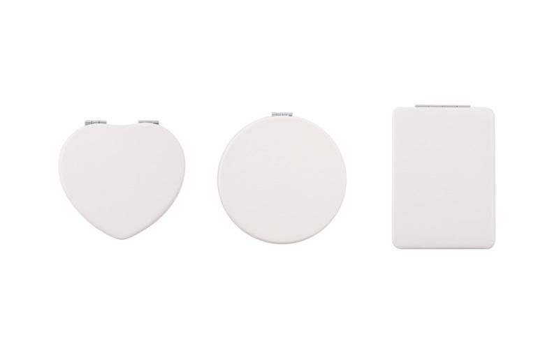 全3種類のタイプから作成可能(丸型・長方形型・ハート形)