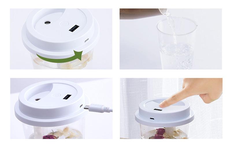 卓上加湿器のご利用方法