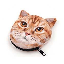 猫型コインケース|OEM・ノベルティ|小物ケース