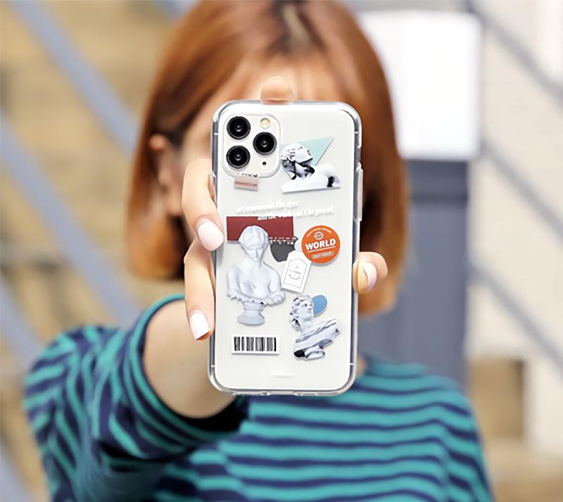 税込み980円から製作可能!オリジナルソフトケース制作!格安でiPhone12 Android端末スマホにも対応