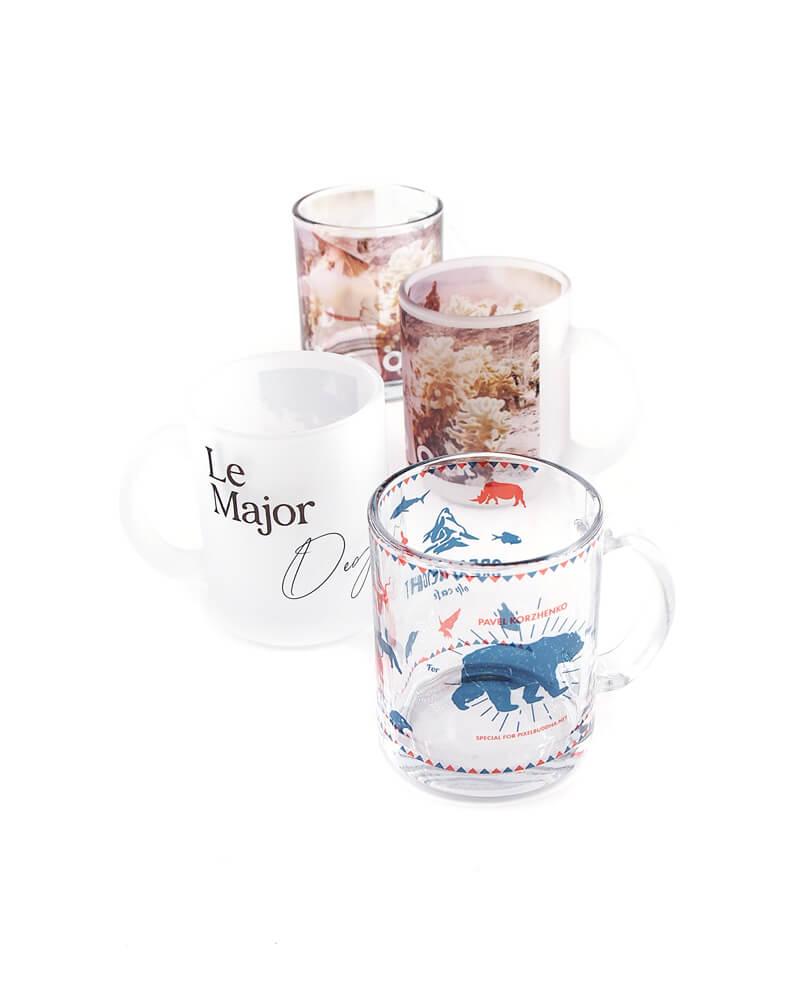 【1個から最安注文】ガラス製マグカップのオリジナル製作