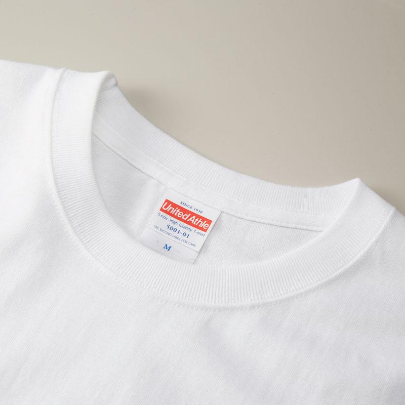 1枚から注文OK!上質なTシャツ。オリジナルTシャツのデザインをオーダーできるME-Q