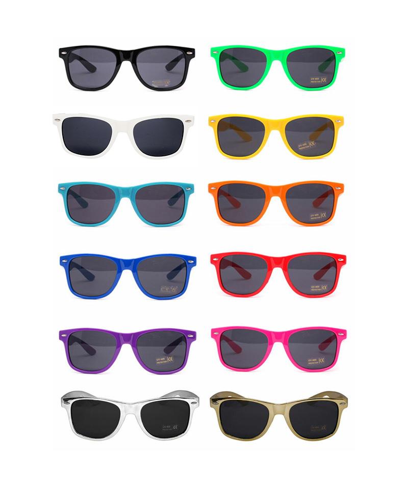 ピンホールサングラスのカラー