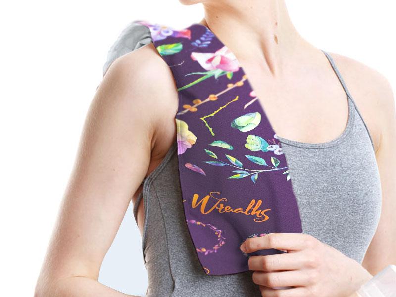 オリジナルで作れる冷感タオル。暑い季節を快適にするグッズとして人気