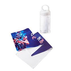 冷感タオル(ボトルケース付)のオリジナル印刷・プリント