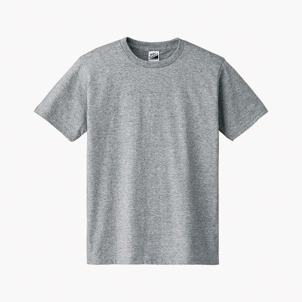Tシャツ 杢グレー