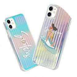 Iridescent Caseでオリジナルグッズ作成|耐衝撃・オーロラ・スマホケース|夢色スマホケース