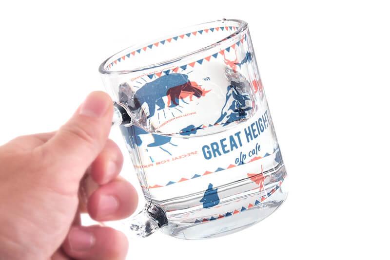 人気で使いやすいサイズ感。350mlマグカップ。