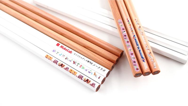 鉛筆は12本セットでご注文可能