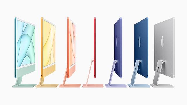 M1搭載iPad Pro AirTag 新iMac発表